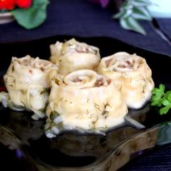 Ленивые пельмени на сковороде - рецепт с пошаговыми фото