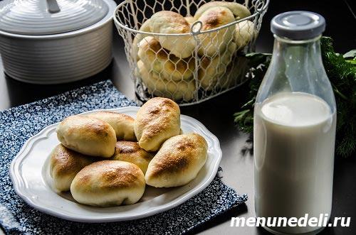 Пироги с капустой и яйцом приготовленные по бабушкиному рецепту