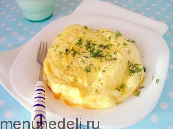 recept omleta s molokom
