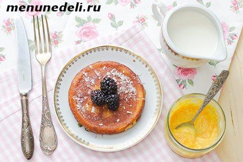Рецепт панкейков с морковью