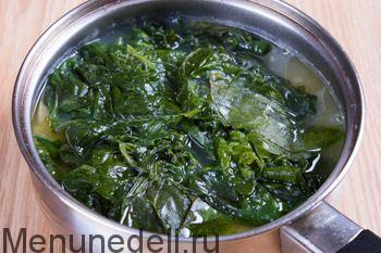 Как приготовить шпинат замороженный