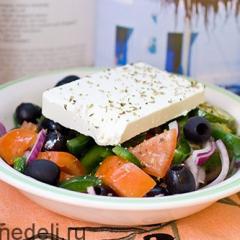 Греческий салат - рецепт классический