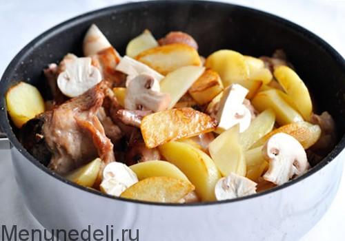 Кролик с картошкой - рецепт с пошаговыми фото