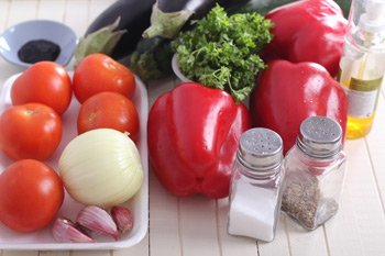 Рататуй в перцах, пошаговый рецепт с фото