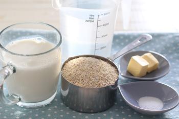 Ингредиенты для приготовления ячневой каши для завтрака