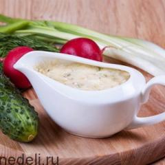 Соус тартар - рецепт с пошаговыми фото
