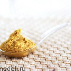 Простой соус к мясу – домашняя горчица на рассоле