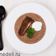 Фасолевый суп в мультиварке