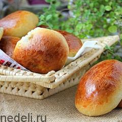 Пирожки с начинкой из щавеля