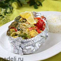 Семга в фольге - рецепт с пошаговыми фото
