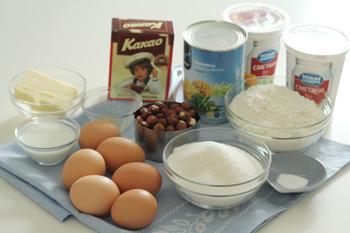 Ингредиенты для торта Санчо Панчо
