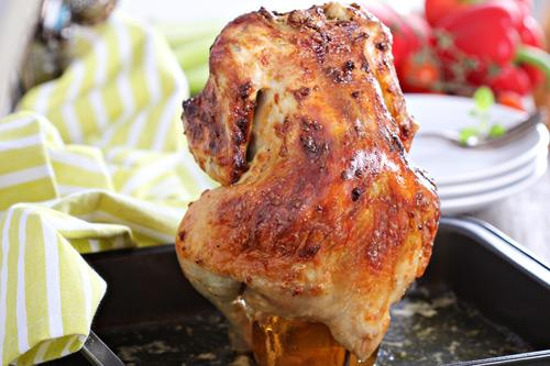 Как приготовить курицу на банке с пивом целиком