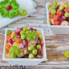 Винегрет овощной как в детском саду