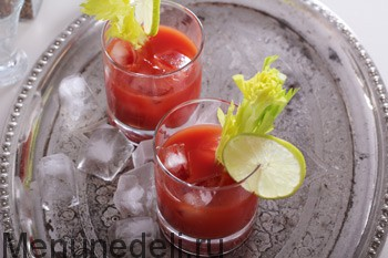 Классический коктейль Кровавая Мэри , пошаговый рецепт с фото