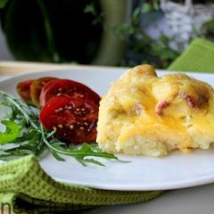 Как приготовить картофельную запеканку с мясом и сыром