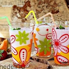 Молочный коктейль в блендере - рецепт с пошаговыми фото