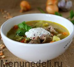 Gorohovyj sup s govjadinoj