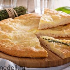 Проверенный рецепт осетинского пирога с картофелем и сыром