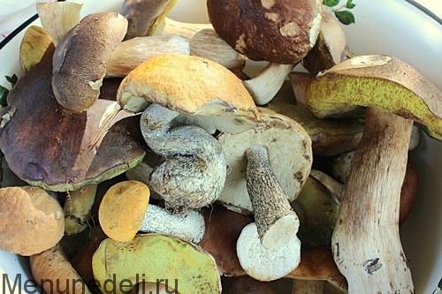 Гречневая каша с лесными грибами