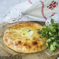Осетинский пирог с творогом по проверенному рецепту с пошаговыми фото