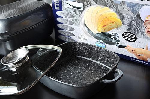 Хорошая качественная сковорода с уникальным каменным покрытием