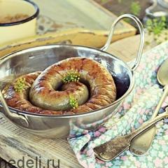 Ведарай - картофельные запеченые колбаски