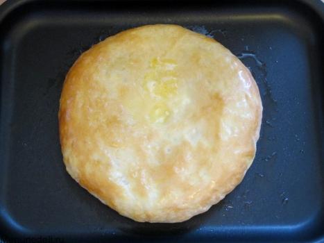 Осетинский пирог с сыром и зеленью рецепт