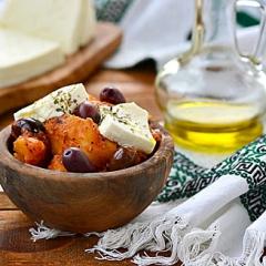Картофельное рагу по-гречески в мультиварке - рецепт с пошаговыми фото