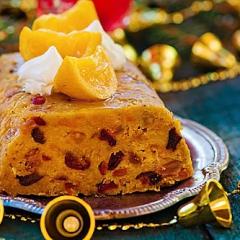 Рождественский фруктовый пудинг - рецепт с пошаговыми фото