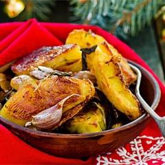 Самая вкусная печеная картошка по проверенному рецепту