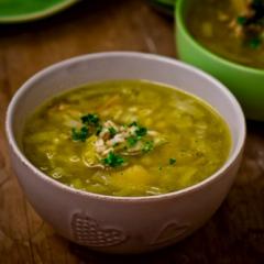 Перловый суп с индейкой в мультиварке