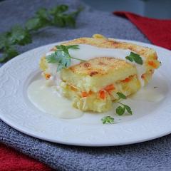 Запеканка картофельная с овощами как в детском саду
