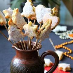 Как приготовить печенье на палочке с сухофруктами