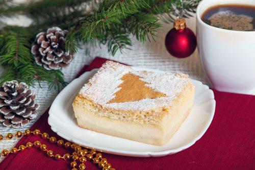 «Умное» пирожное, которое само расслаивается