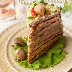 Как приготовить печеночный торт -  проверенный рецепт с фото