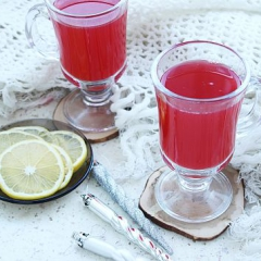 Как приготовить имбирный чай с клюквой - пошаговый рецепт