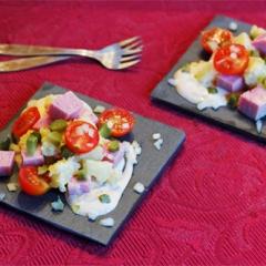 Французский салат Пьемонтез