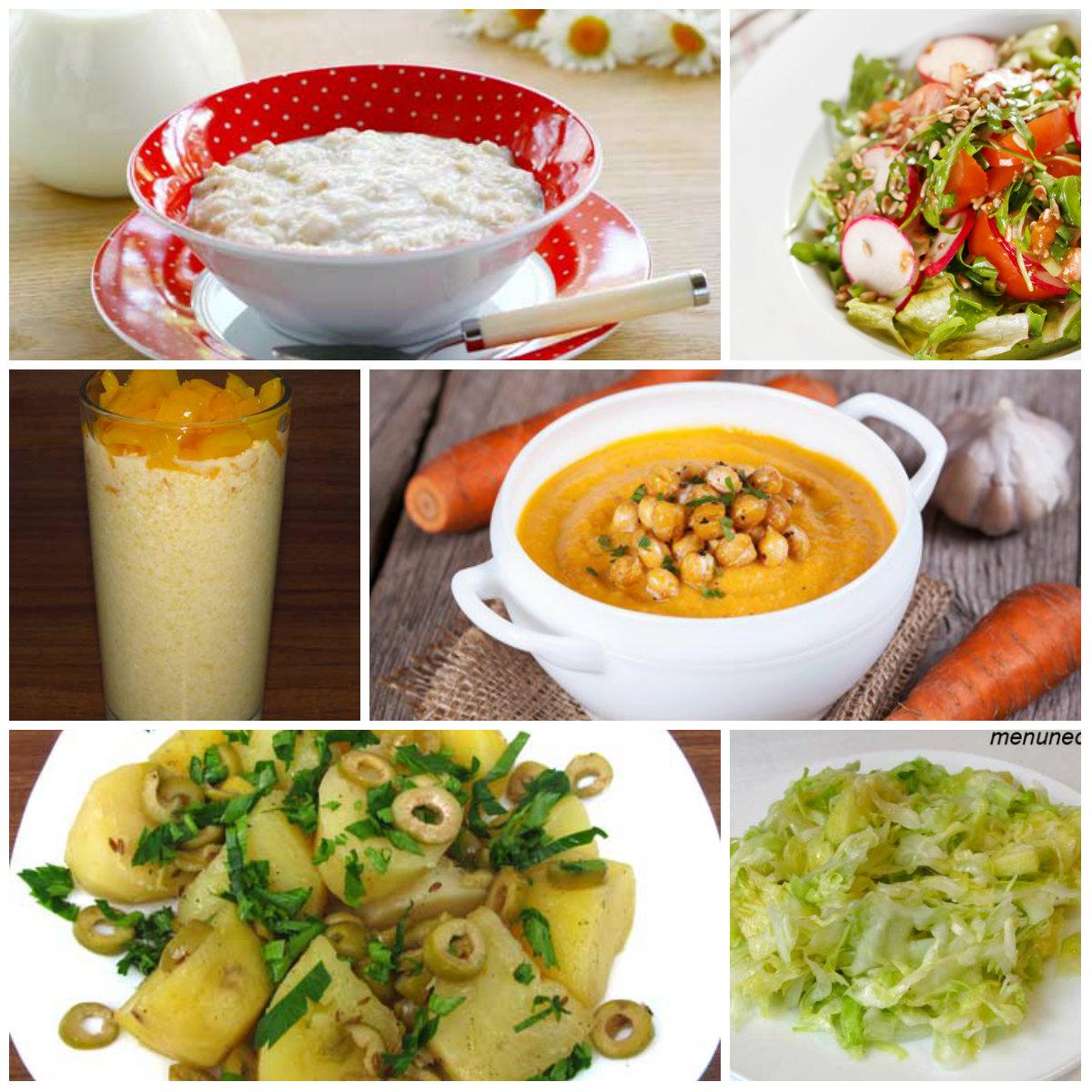 Сбалансированное вегетарианское питание меню на неделю