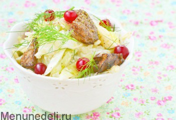 salat-iz-kapusti-s-klukvoy