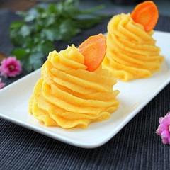 Картофельное пюре с морковью как в детском саду