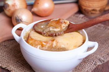 Рецепт лукового супа пюре классический