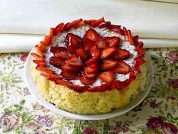 Украшение торта смородиной фото