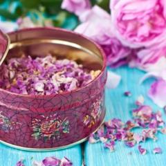 Как сушить лепестки розы