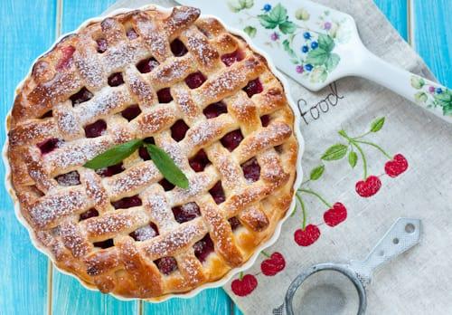 Пирог с вишней (99 рецептов с фото) - рецепты с ...