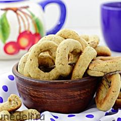 Бублики ореховые