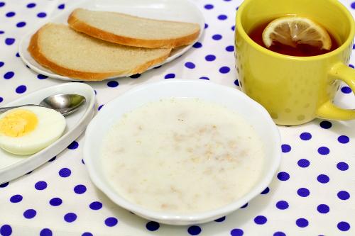 Завтрак по меню для детей от 1 до 3 лет