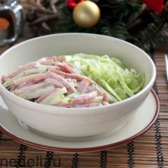 Салат швейцарский новогодний