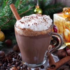 Пряный шоколадно-кофейный напиток