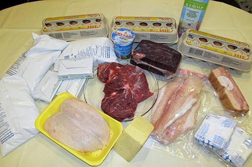 Мясо, птица, рыба, яйца для экономного меню