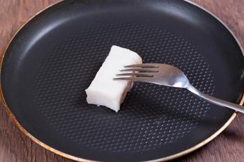 Сало на сковороде